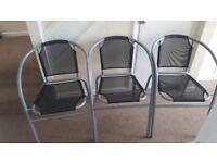 Garden chairs (×3)