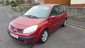 2004 Renault Megane Scenic , New m.o.t