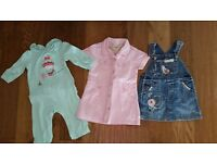 Baby Girl Clothes Bundle - 6-9m, 9-12m and 6-12m - High Street Brands and in Excellent Condition
