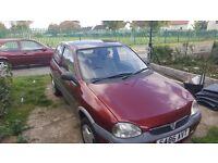 Vauxhall corsa 1 litre mot 04/17