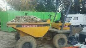 Thawaites 3 ton dumper