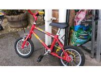 Boys bike 12inch wheel