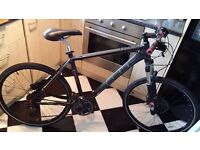 Mountain Bike, fluid disc brake, paid 890£, no scratch, rarely used 51 cm (large)