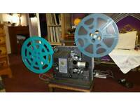 16mm projector and films