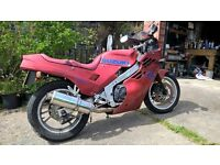 1986 Suzuki GSXR400 GK71F restoration project. Complete bike with large quanity of spare parts.