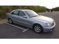 Mercedes-Benz S Class 3.2 S320 4dr£2,895 p/x welcome FREE WARRANTY. NEW MOT