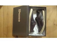 Mens dune scribble shoes size 8/42