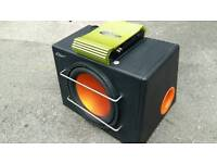 12 inch Mutant sub 1000watts in box with amp