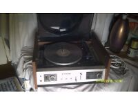 "SONY STEREO MUSIC SYSTEM HP-480 A 12"" TURNTABLE AMPLIFIER & RADIO + TONE CONTROLS etc,etc +"