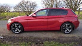BMW 116d 2.0l Sport 2012 62reg manual **38k and £30 road tax**