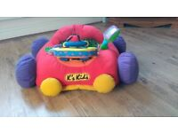 Baby car seat, support cushion / toy