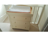 Changing table/3 drawer chest.