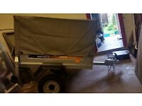 ERDE 102 CLASSIC TRAILER WITH HIGH SIDE KIT COVER AND SPARE WHEEL NEW OLD STOCK