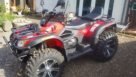 FORCE 500-2 4x4 QUAD Road Legal.As New