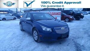 2012 Chevrolet Cruze LT Turbo Low Mileage And Low Monthly Paymen