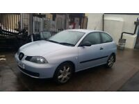 2003 SEAT IBIZA 6L FULL CAR BREAKING. ALL PARTS AVAILABLE. LS5T BLUE/ SILVER