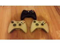 Official Xbox 360 Official Elite Wireless Controller - Black and white - used