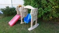 LITTLE TIKES SLIDE/SWING COMBO GYM PLAY HOUSE