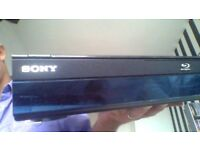 Sony Blueray&Dvd player with remote control