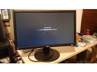 "LG FLATRON E2411PU-BN 24"" Inch LED Backlight LCD Monitor"