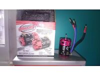 Team corally 540 13.5t brushless motor 3s lipo compatible