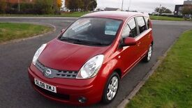 Nissan Note 1.6 16v AUTO Acenta ,2008,Alloys,Air Con,,Full Service History,Very Clean