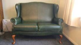 Leather Sherborne Two Seat Sofa