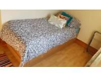 Ikea extendable bed & 2 mattresses
