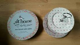 At Home with Ashley Thomas 2 tier cake stand