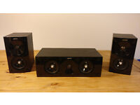 Jamo center and satellite speakers from 5.1Home Cinema System