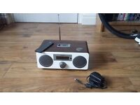 Sandstrom DAB Clock Radio with iPod Dock