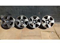 X4 alloy wheels for VW/Audi/Ford/other makes.