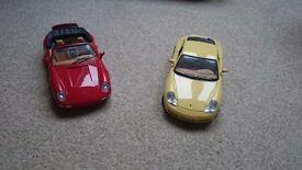 Model diecast cars 1:18