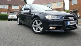 AUDI A4 TDI Technik 2013 2.0 Estate Diesel Auto (Low Mileage 44237)