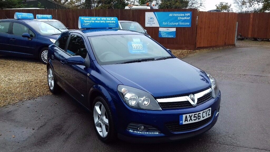 VAUXHALL ASTRA COUPE SRI AUTOMATIC 1.8 & FULL SERVICE HISTORY