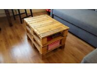 Industrial style pallet coffee table - £22