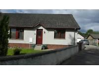 Kiltarlity - 3 bedroom semi detached bungalow with detached garage