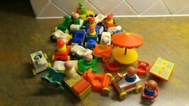 Vintage Fisher-Price Toys from late 70's to very early 80's