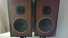Speaker and stands