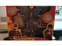 Mini RC Dalek Battle Pack with The Doctor Action Figure