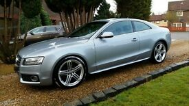 Audi A5 2.0 TDI coupe s line 59 plate