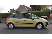 CITROEN C4 PICASSO SX HDI BEIGE 1.6 DIESEL Family MPV (new clutch and timing belt)