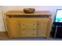 Living room drawer for sale, very good condition and solid oak.