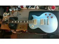 Epiphone Les Paul Standard in Pelham Blue