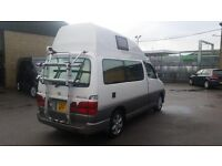 Toyota Grand Hiace 3.4V6 hitop rear conversion with 2x Single beds, petrol & LPG conversion