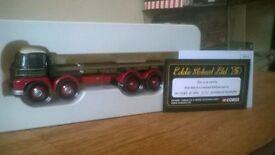 eddie stobart limited edition foden flatbed truck