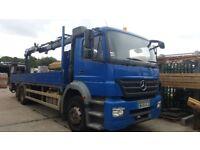 Mercedes - Benz Axor 2528L - Crane truck