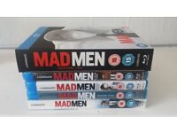 Mad Men Blu-Ray Series 1-6 As New Condition