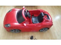 Used ride on car ferrari electric children toy