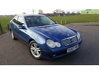 Mercedes / c class / coupe / automatic